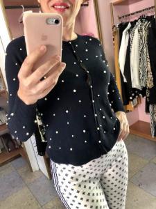 Giacchina con Perle Oroblu
