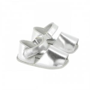 Sandali argento glitter