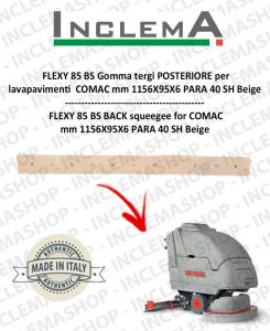 FLEXY 85 BS Gomma tergi POSTERIORE per lavapavimenti COMAC