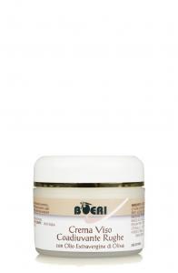 Crema viso codiuvante rughe con Olio EVO 50 ml