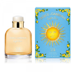 Light Blue Sun Pour Homme Summer 2019 Eau De Toilette Spray 125ml