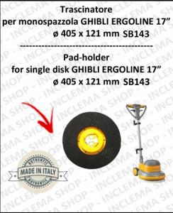 TRASCINATORE para Monodisco GHIBLI ERGOLINE DA 17 POLLICI (SB143)