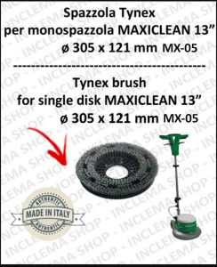 SPAZZOLA TYNEX per monospazzola MAXICLEAN MX-05 13