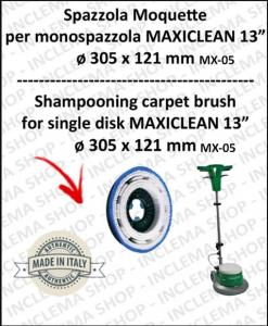 BROSSE MOQUETTE pour monobrosses MAXICLEAN MX-05 13