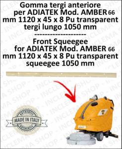 AMBER 66 (saug von 1050 mm) Vorne sauglippen für scheuersaugmaschinen ADIATEK