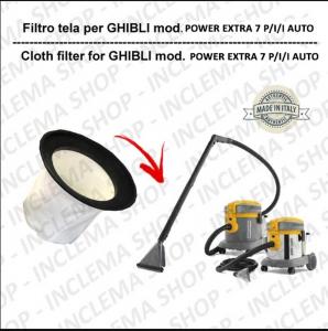 Filtre Toile pour aspirateur GHIBLI modèle POWER EXTRA 7 P/I/I AUTO