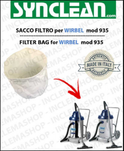 935 SACCO FILTRO for vacuum cleaner WIRBEL