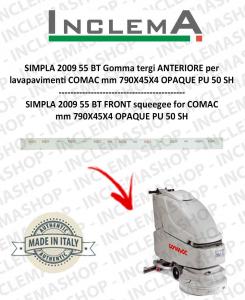 SIMPLA 55 BT 2009 Gomma tergi ANTERIORE per lavapavimenti COMAC