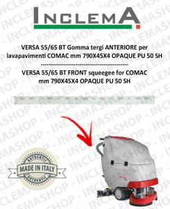 VERSA 55/65 BT Gomma tergi ANTERIORE per lavapavimenti COMAC (tergi da 990mm)
