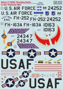 F-105D Thunderchiefs