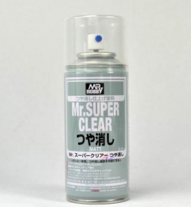 MR SUPER CLEAR MATT -  TRASPARENTE OPACO SPRAY