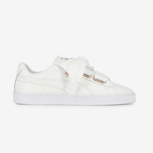 Puma Basket Heart Leather Wn's Puma White-Rose Gold 367817-01
