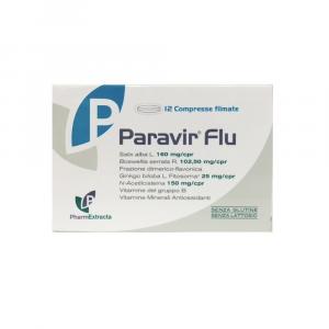 PARAVIR FLU - COMPRESSE A BASE DI GINKGO, BOSWELLIA ZINCO E SELENIO