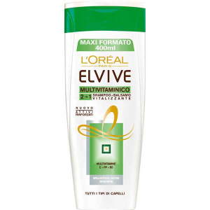 ELVIVE Shampoo Multivitaminico 2 in 1 400 ml
