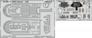 F-100D interior