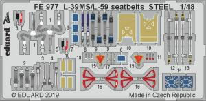 L-39MS/ L-59 seatbelts STEEL