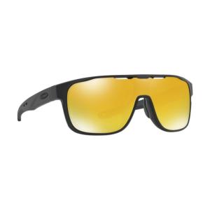 Oakley - Occhiale da Sole Uomo, Crossrange™ Shield, Matte Black/24k Iridium  OO9387 938706  C131