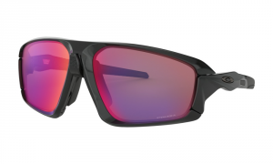 Oakley - Occhiale da Sole Uomo, Field Jacket, Polished Black/Prizm Road  OO9402 940201  C64