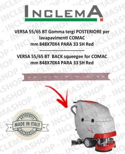 VERSA 55/65 BT Gomma tergi POSTERIORE per lavapavimenti COMAC (tergi da 800mm)