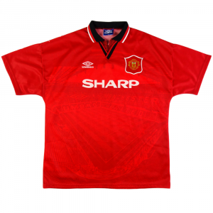 1994-96 Manchester United Maglia Home XL (Top)