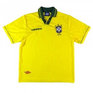 1993-94 Brasile Maglia Home L