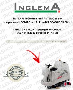 TRIPLA 75B Gomma Tergi ANTERIORE per lavapavimenti COMAC