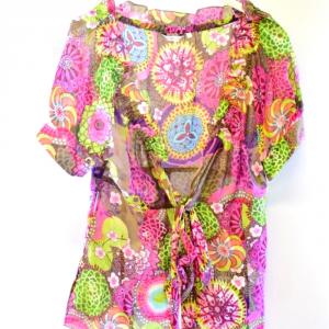 Camicia Donna Fiori Marella Tg 46