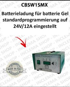 CBSW1SMX Batterieladung für batterie - Gel STANDARDPROGRAMMIERUNG 12V-24V 12A