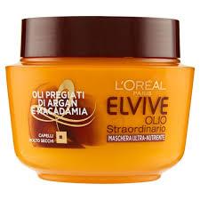 ELVIVE Maschera Olio Straordinario Nutriente 300 ml