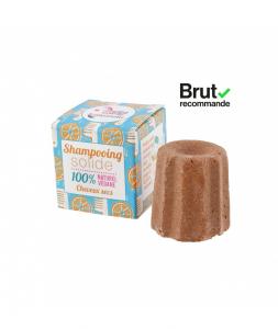 Shampoo Solido per Capelli Secchi all'Arancio