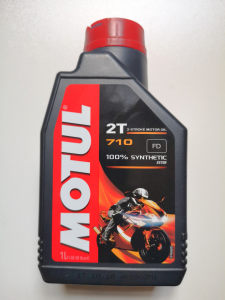 OLIO MISCELA MOTUL 710 100% SINTETICO per MOTORI 2 TEMPI