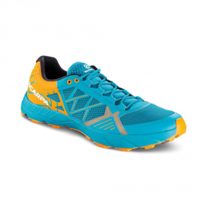 SPIN   -   Trail running, leggera e grip notevole   -   Sea-Bright Orange