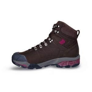 ZG PRO GTX WMN   -   Trekking per escursioni di più giorni, Impermeabile   -   Dark Coffee-Red Plum