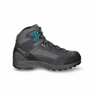 KAILASH LITE GTX     -   On trails with full backpacks, waterproof   -   Gray-Shark-Lake Blue