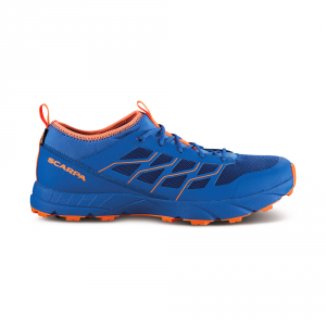ATOM SL GTX   -   Trail running allenamento su bagnato   -   Turkish Sea-Orange Fluo