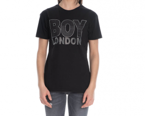 Shirt Jersey G/G MM Stass Boy London BLD1992-NERO