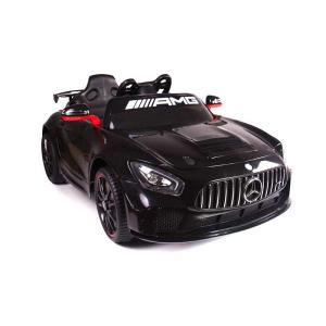 Macchina Auto Elettrica Bambini MERCEDES GT4 AMG NERA