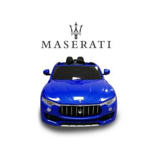Macchina Auto Elettrica per Bambini Maserati Levante BLU 12V