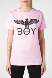 Maglia Jersey Boy London G/C M/M +Stampa Rosa BLD1771