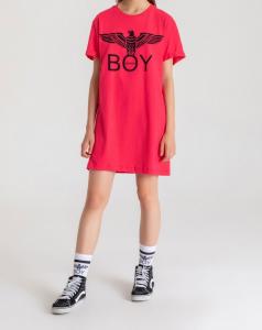 Abito Jersey Boy London Fucsia G/C M/M +Stampa BLD1786