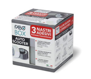 FABO BOX AUTO SCOOTER 3 nastri adesivi formato convenienza