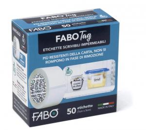 FABO TAG 50 etichette scrivibili impermeabili