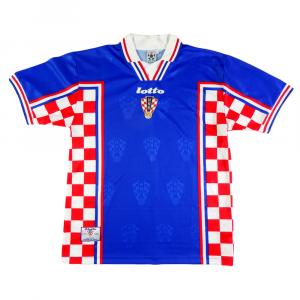 1998-01 Croazia Maglia Away L (Top)