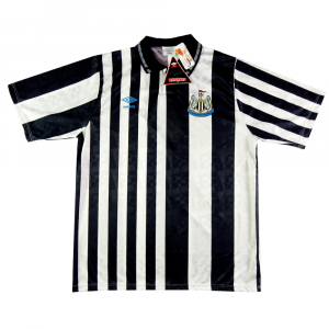 1990-93 Newcastle Maglia Home *Cartellino XL