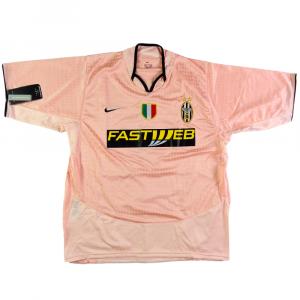 2003-04 Juventus Maglia Away  *Cartellino XL