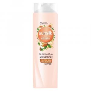 SUNSILK Shampoo Anti-rottura olio di Argan e Mandorle 250 ml