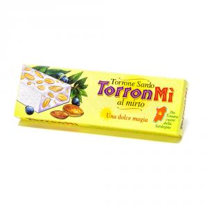 Torronmi' – Stecca torrone mandorle e miele aromatizzato al mirto – 100 g