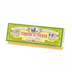 Scatola America – Stecca torrone noci e miele 100 g