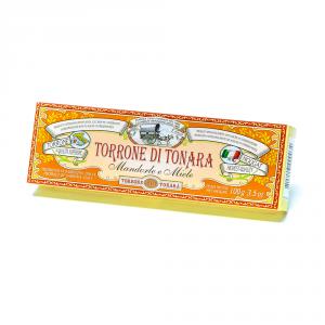 Scatola America - Stecca torrone mandorle e miele – 100 g