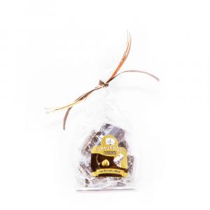 Torronciock fondente – Cioccolato fondente con torrone alle nocciole – 200 g